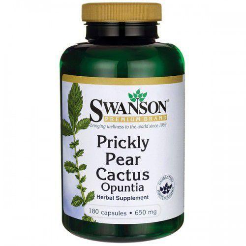 Prickly Pear Cactus (Kaktus opuncja) - 650mg - (180 kap)