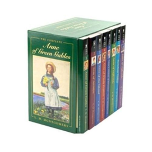 Anne of Green Gables Complete 8 Book Box Set Montgomery Lee (9780553609417)