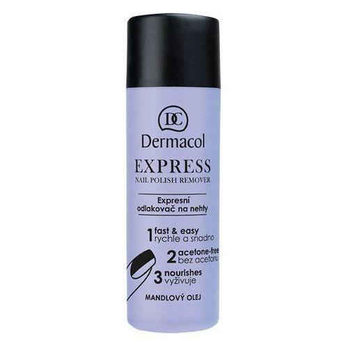 Dermacol express nail polish remover 120ml w zmywacz do paznokci