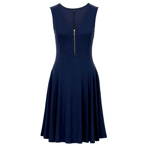 Sukienka ciemnoniebieski marki Bonprix