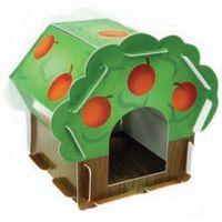 """Tekturowy domek """"jabłonka"""" dla gryzoni marki Hp small animal"""