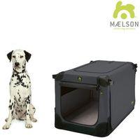 Maelson Přepravka Soft Kennel černá / antracitová vel. 82 (4260195040373)