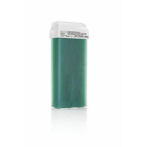 Premium textile Wosk do depilacji clorofilla z szeroką rolką 80ml