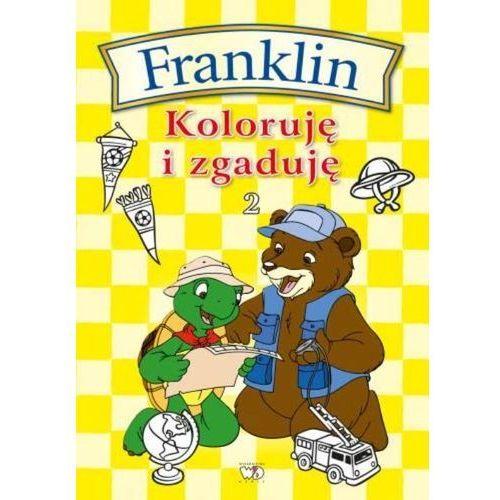 FRANKLIN KOLORUJĘ I ZGADUJĘ 2 (24 str.)