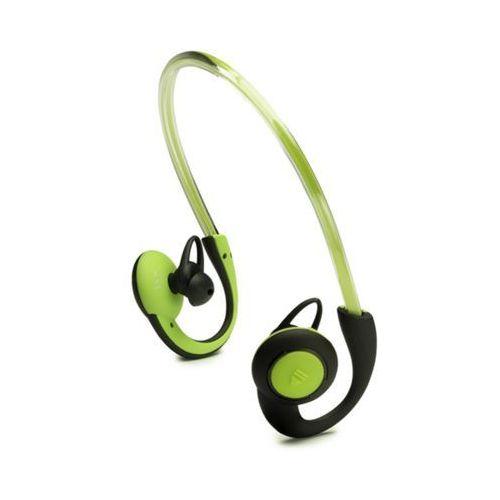 Słuchawki douszne BT sportowe z oświetleniem zielone (Boompods)