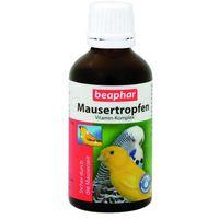 Beaphar mausertropfen - witaminowy preparat do stosowania podczas pierzenia 50ml