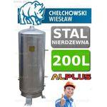 Chełchowski Zbiornik hydroforowy 200l nierdzewny hydrofor firmy wysyłka gratis