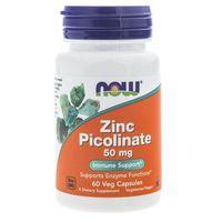 Kapsułki Now Foods Zinc Picolinate (pikolinian cynku) 50 mg - 60 kapsułek