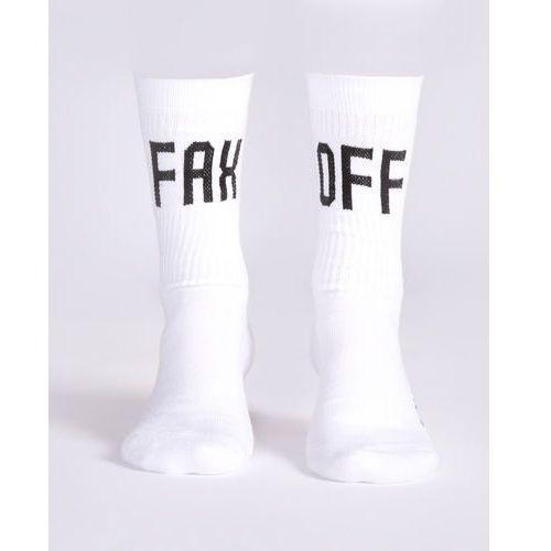 Jakub Polanka x Bibloo Fusain. Socks Biały 41-45, kolor biały