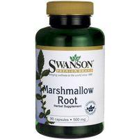 Kapsułki Prawoślaz lekarski Marshmallow Root 500mg 90 kapsułek SWANSON