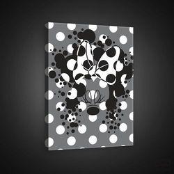 Obraz Disney: Czarno biała Minnie PPD1429