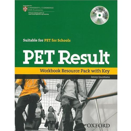 PET result Workbook Resource Pack with key+Cd (9780194817202)