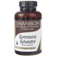 Kapsułki Swanson Gymnema Sylvestre standarazyowana 300 mg - 120 kapsułek