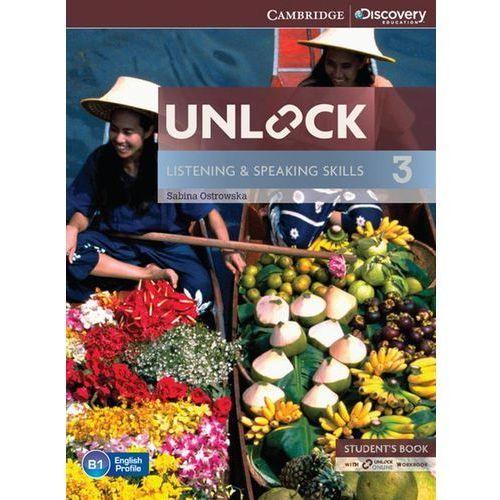 Unlock: Listening & Speaking Skills 3. Podręcznik + Online Workbook (9781107687288)