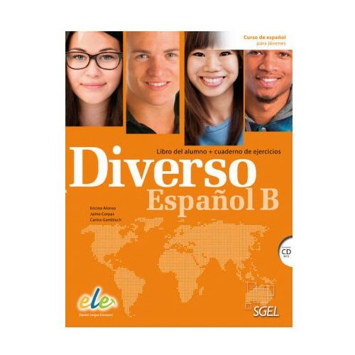 Diverso Espanol B Libro del alumno + Cuaderno de ejercicios + CD - Alonso Encina, Corpas Jaime (2016)