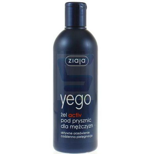 ZIAJA YEGO 300ml Active Żel pod prysznic dla mężczyzn - Super oferta