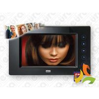 Eura-tech Monitor do wideodomofonu z dotykowym ekranem i pamięcią 7'' vda-29a5 eura