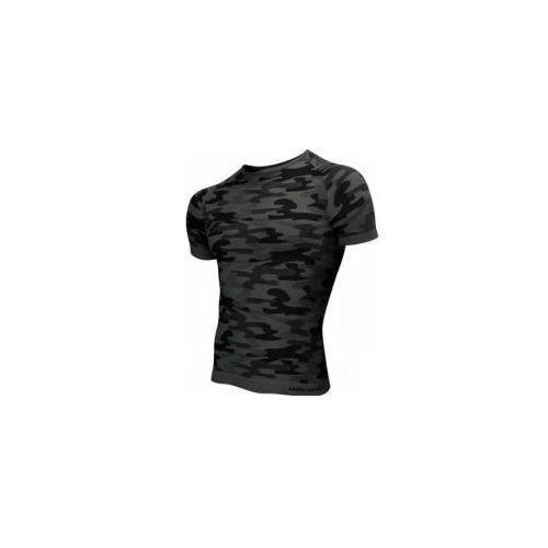 50635fda2 ▷ Koszulka termoaktywna krótki rękaw męska moro grafit (SESTO SENSO ...