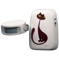 InnovAdvance Dzwonek do drzwi dla kota, 50 m, biały, 78110121 (7350081120009)