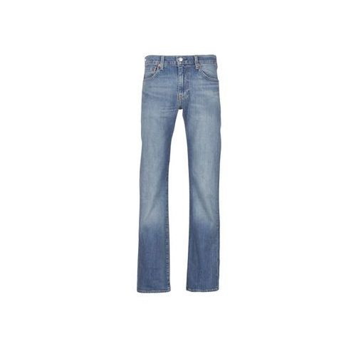 Jeansy bootcut Levis 527 SLIM BOOT CUT, kolor niebieski