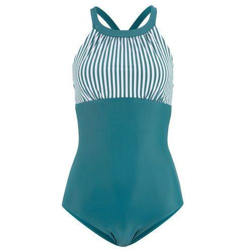 """Bikini na fiszbinach """"minimizer"""" (2 części) bonprix czarno-naturalny, bikini"""