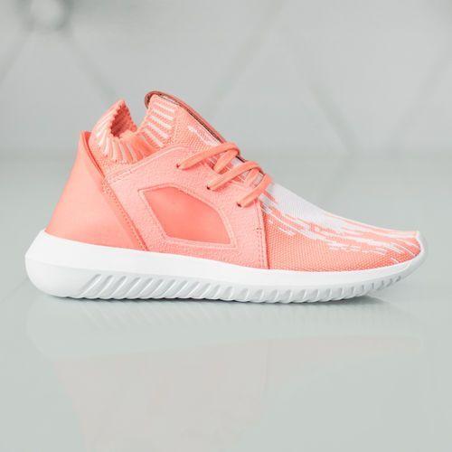 originals tubular defiant primeknit sneakers pomarańczowy 40 marki Adidas