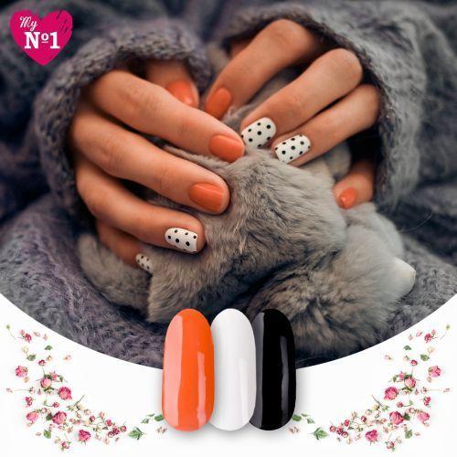 Wzorki na paznokcie myno1 eleganckie wyróżnienie marki My no1
