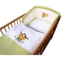 3- częściowy zestaw pościeli de luxe, pszczółka, zielony marki Cosing