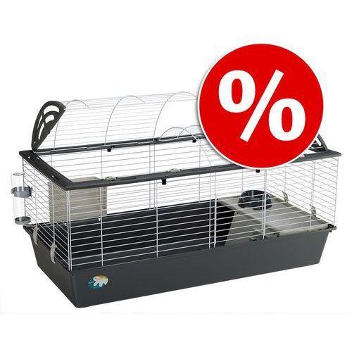 Ferplast Casita 120 klatka dla małych zwierząt - Szara, dł. x szer. x wys.: 119 x 58 x 61 cm  -5% Rabat dla nowych klientów  Dostawa GRATIS + promocje