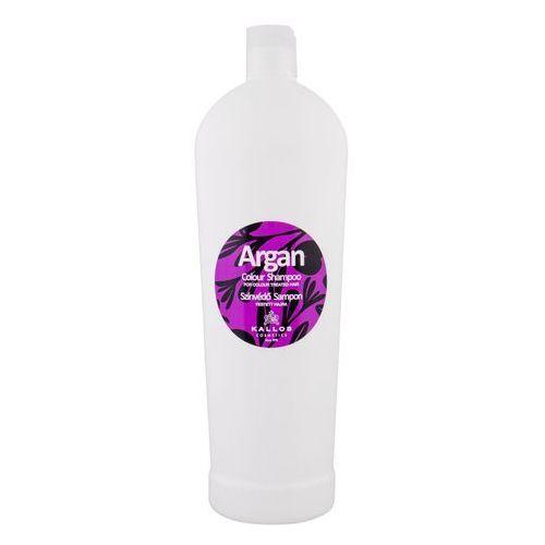 Kallos Argan Colour Shampoo 1000ml W Szampon do włosów farbowanych - Niesamowity rabat