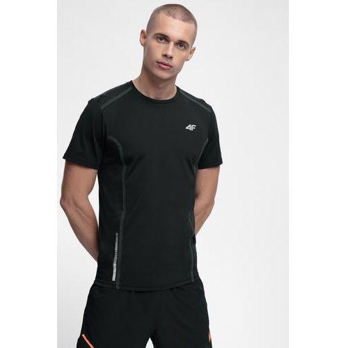 e568a9479152e Koszulka do biegania męska TSMF216 - głęboka czerń, kolor czarny