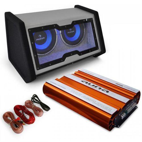 """Auna zestaw samochodowy hifi """"bassophant"""" system 0.1 wzmacniacz marki Elektronik-star"""