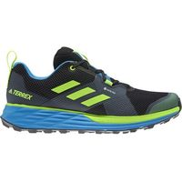 adidas TERREX Two Gore-Tex Buty biegowe Mężczyźni, core black/signal green/brblue UK 7   EU 40 2/3 2020 Buty trailowe
