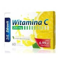 Zdrovit Witamina C 200mg x 60 tabletek