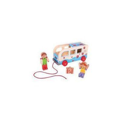Autobusy zabawki Bigjigs Toys InBook.pl