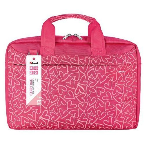 457a86c0205c6 Bari carry bag for 13.3 laptops - pink hearts Trust