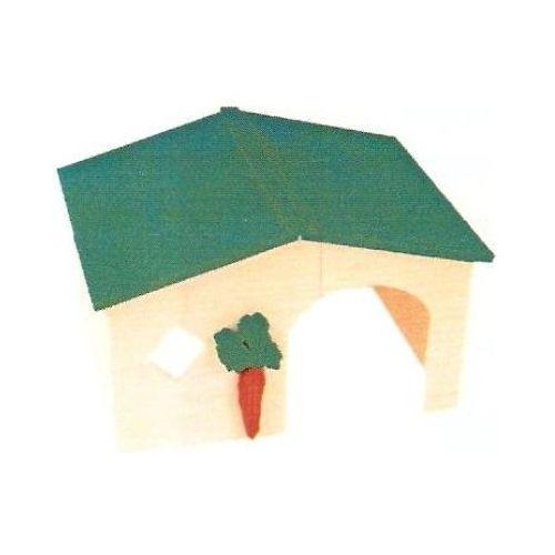 ZOLUX Domek drewniany dla królika - DARMOWA DOSTAWA OD 95 ZŁ! (3336022057126)
