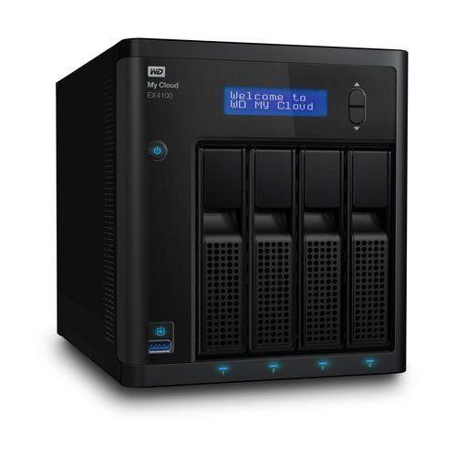 Serwer plików NAS WD My Cloud EX4100 0 TB ( WDBWZE0000NBK ), WDBWZE0000NBK-EESN