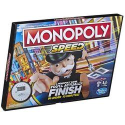Gra Monopoly Speed + druga gra w koszyku 10% TANIEJ!!