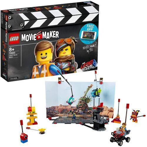 70820 LEGO MOVIE MAKER (LEGO Movie Maker) KLOCKI LEGO MOVIE 2 rabat 5%