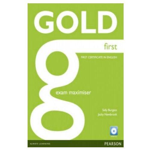 Gold First Zeszyt Ćwiczeń (maximiser) Bez Odpowiedzi (9781408297919)