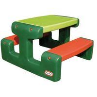 Maly stół piknikowy zielony + raty 0%. marki Little tikes