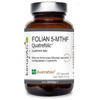 Kapsułki Folian 5-MTHF Quatrefolic 60 kaps.