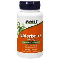 Kapsułki Elderberry (Czarny bez) 500mg 60 kaps.