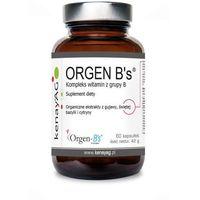 Kompleks witamin z grupy B Orgen B's 60 kapsułek kenayAG (5900672152593)