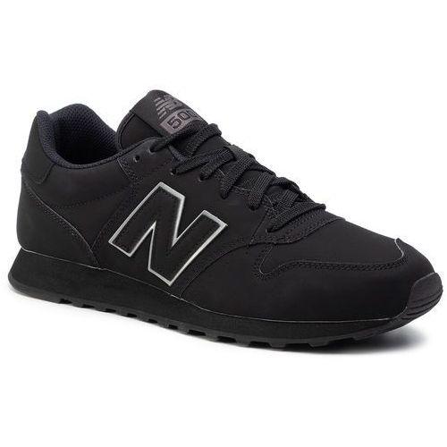 New balance Sneakersy - gm500trb czarny