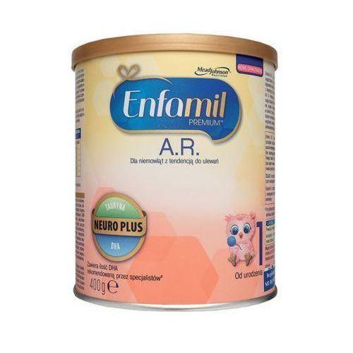 400g premium 1 a.r. proszek dla niemowląt z tendencją do ulewań od urodzenia Enfamil