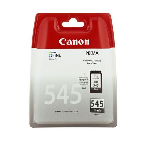 Canon oryginalny ink pg-545, black, 180s, 8287b001, canon pixma mg2450, 2550