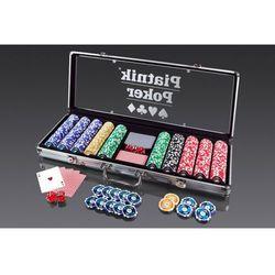 Piatnik Zestaw do pokera 500 żetonów +darmowa dostawa przy płatności kup z twisto