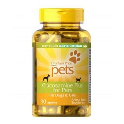 Puritan's pride glucosamine plus for pets - 90caps